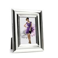 Whitehill Frames - Silverplated Wide Plain Photo Frame 13cm x 18cm