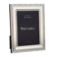 Whitehill Frames - Silverplated Reed & Ribbon 10cm x 15cm